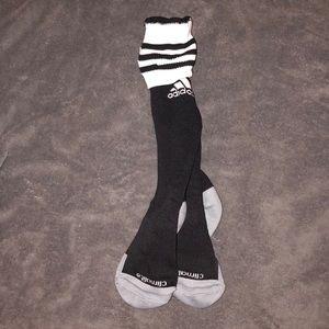 Adidas knee high soccer socks